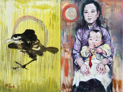Hung Liu 刘虹, 'Crow Song', 2008
