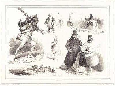 Hippolyte Bellangé, 'Social Vignettes', 1830