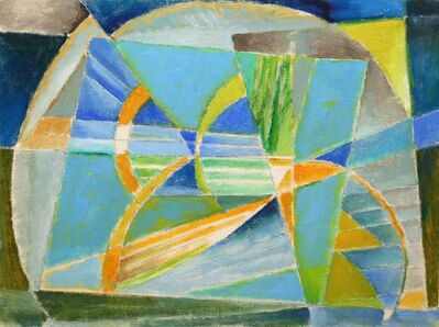 Werner Drewes, 'Untitled (Abstraction)', 1980s