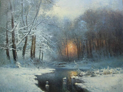 Vladimir Nasonov, 'Winter Stream'