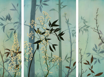 Ivy Jacobsen, 'Bamboo (Triptych)', 2017