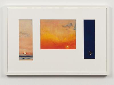Daniel Pommereulle, 'Sans titre ou Variations sur le soleil et la lune', 1973