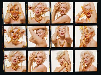 "Bert Stern, 'Marilyn Monroe: From ""The Last Sitting"" (Contact Sheet)', 1962"
