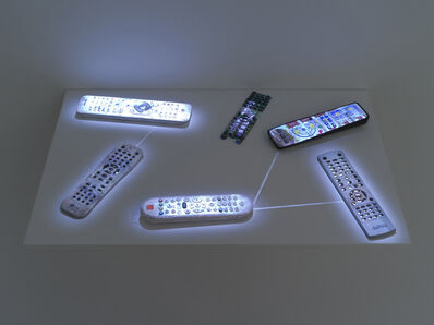 Daniel Canogar, 'CCTV', 2014