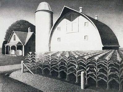 Grant Wood, 'Fertility', 1939