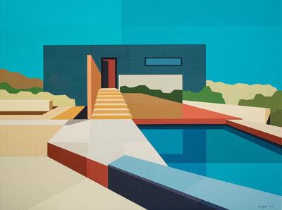 Andy Burgess, 'Concrete Desert House', 2018
