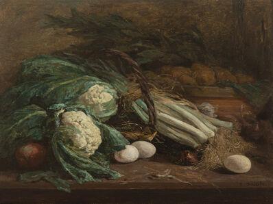 Eugène Boudin, 'Nature morte aux légumes', 1824-1898