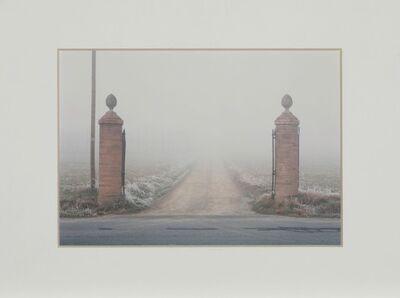 Luigi Ghirri, 'Formigine Modena – Ingresso casa colonica da Il profilo delle nuvole, 1985', Printed in 2004