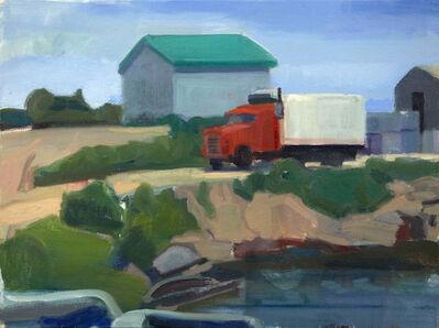 John Goodrich, 'Red Truck, Beal's Island', 2016