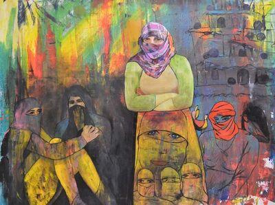 Rostam Aghala, 'Daesh Molested the Girls (Yezidi Girls)', 2015