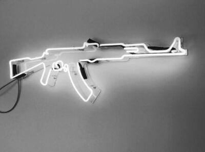 Carl Mccrow, 'AK47 Neon', 2018