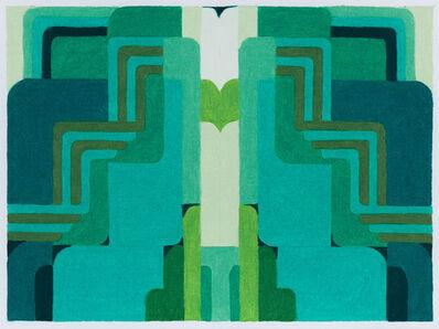 Aili Schmeltz, 'Blue Palo Verde', 2020