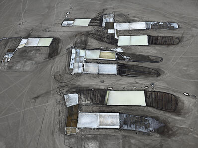 Edward Burtynsky, 'Salt Pan #25, Little Rann of Kutch, Gujarat, India', 2016