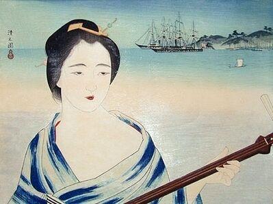 Kobayawaka Kiyoshi, 'The Mistress Okichi (of Townsend Harris)', ca. 1932