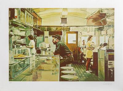 Ralph Goings, 'Unadilla Diner', 1981