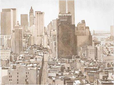 Philip Pearlstein, 'View Over Soho, Lower Manhattan', 1978