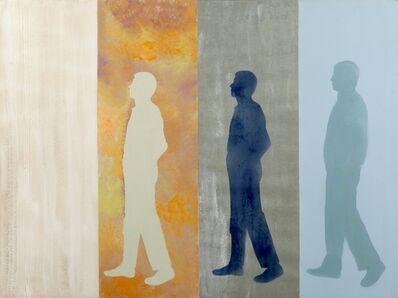 Renato Mambor, 'I Passeggeri Una solitudine passeggera', 2006