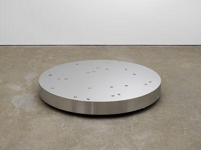 Tatsuo Miyajima 宮島 達男, 'Moon in the Ground - no.3', 2015