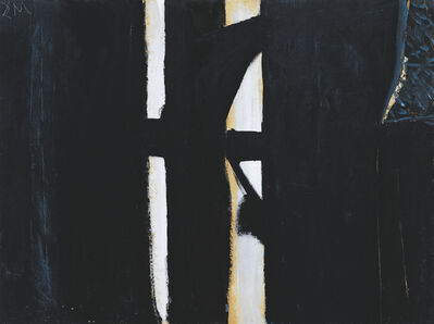 Robert Motherwell, 'Picture in Black', ca. 1950
