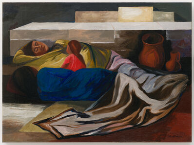 José Clemente Orozco, 'Sleeping (The Family)', 1930