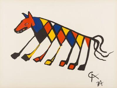 Alexander Calder, 'Beastie', 1974