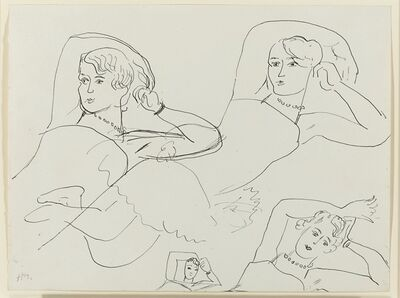 Henri Matisse, 'Quatre études d'une ballerine', 1927