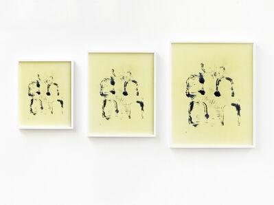 Annette Kelm, 'Untitled (Eisenspäne Triptychon)', 2012
