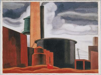 Oscar Bluemner, 'Somber and Hard', 1927