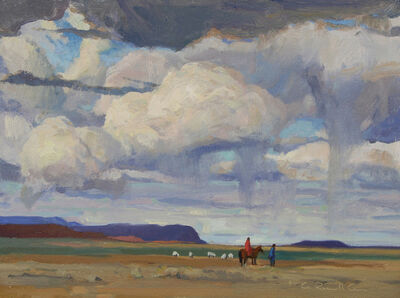 "G. Russell Case, '""Navajo Sky""', 2016"