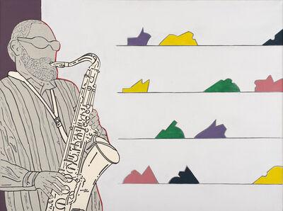 Renato Mambor, 'Coltivazioni musicali', 2000