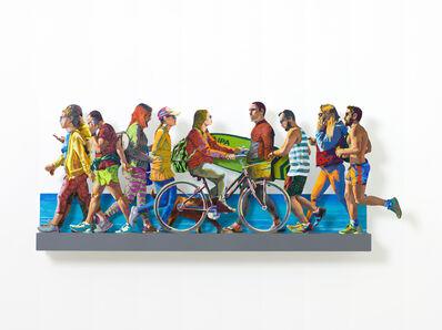 David Gerstein, 'TEL AVIV BEACH PROMENADE特拉維夫海濱(Left)', 2019