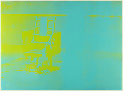 Andy Warhol, 'Electric Chair (FS II.77)', 1971