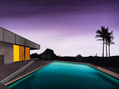 Laurence Jones, 'Black Palms (Desert House)', 2017