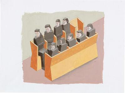 Mernet Larsen, 'Monks', 2005