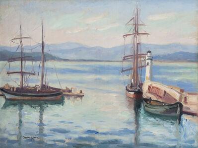 Henri Manguin, 'L'entrée du port de Saint-Tropez', 1927