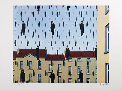 René Magritte, 'Golconde', 2010