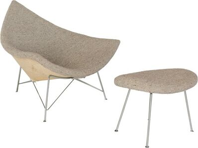 George Nelson, 'Coconut Chair and Ottoman'