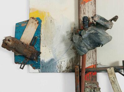 Robert Rauschenberg, 'Aen Floga (Combine Painting)', 1962