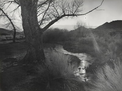 Ansel Adams, 'The Black Sun, Tungsten Hills, Owens Valley, California', 1939