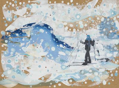 Andrew Fish, 'Skier', 2017