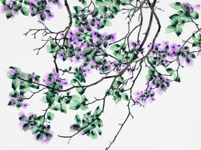 Jackie Battenfield, 'Leafy Green', 2017