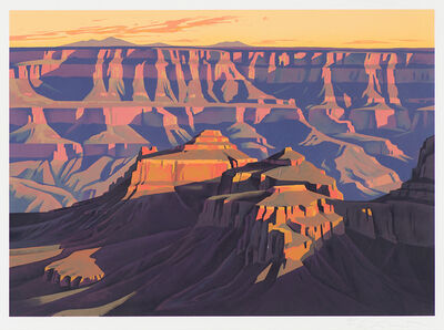 Ed Mell, 'Shadows On The South Rim', 1997