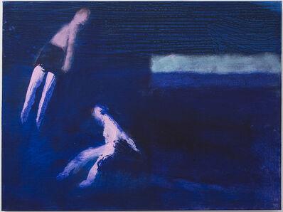 Katherine Bradford, 'Two Swimmers, Ultra Marine', 2016