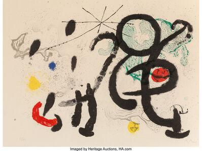 Joan Miró, 'Danse Barbare', 1963