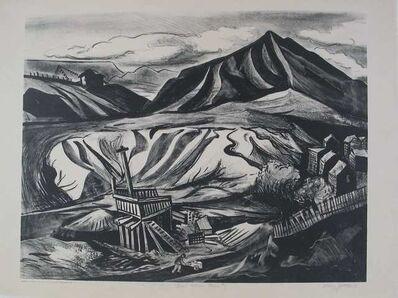 Harry Gottlieb, 'Coal Mine Country', ca. 1935