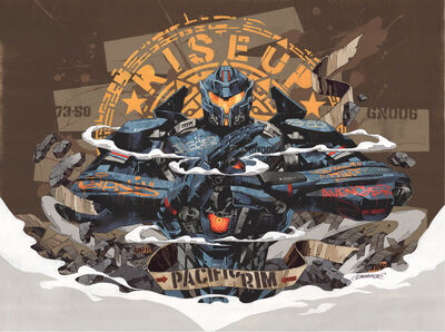 DRAGON76, 'Rize Up - Collaboration with Pacific Rim ', ca. 2018
