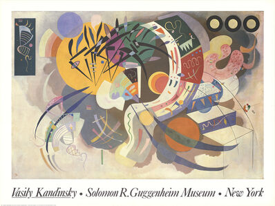 Wassily Kandinsky, 'Courbet Dominante', 1994