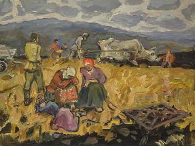 Vladimir Frolovich Stroev, 'Sowing 1945', 1991