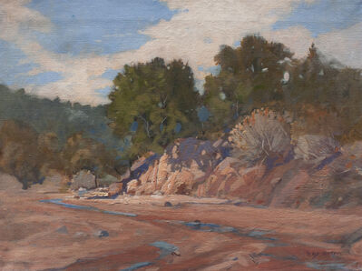 Irby Graves Brown, 'Arroyo After a Summer Rain'