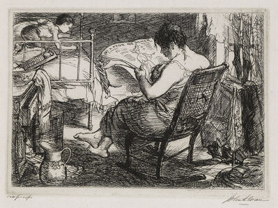 John Sloan, 'The Women's Page', 1905